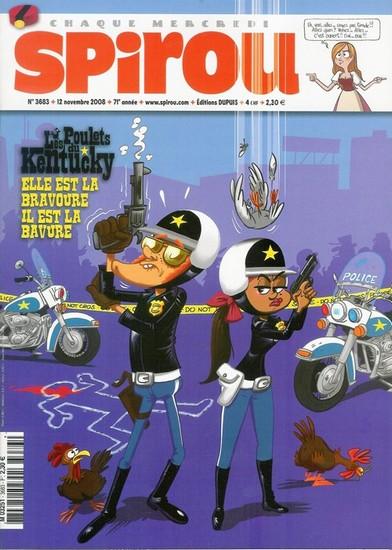 Le journal de Spirou 3683 - 3683