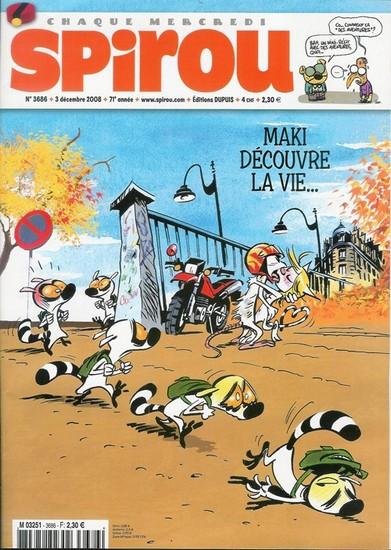 Le journal de Spirou 3686 - 3686