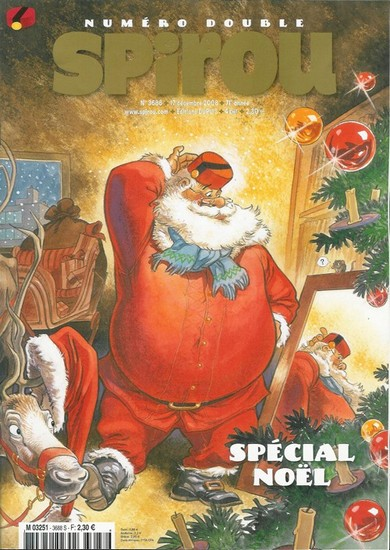 Le journal de Spirou 3688 - Spécial Noël