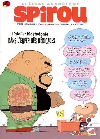 Le journal de Spirou 3850 - Spécial Angoulême