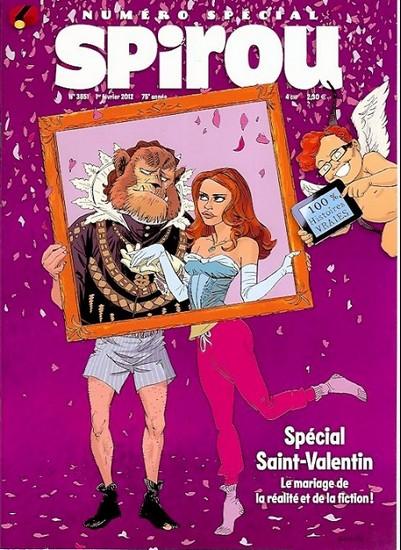 Le journal de Spirou 3851 - Spécial Saint Valentin