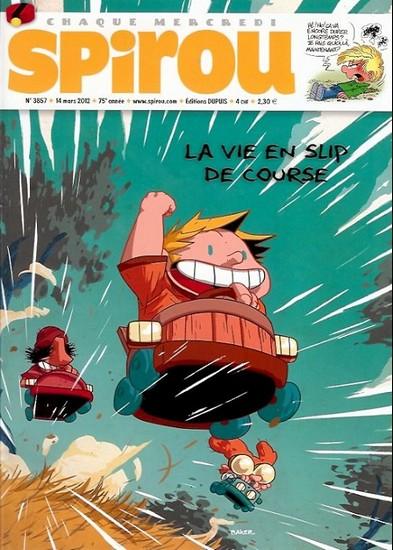 Le journal de Spirou 3857 - 3857