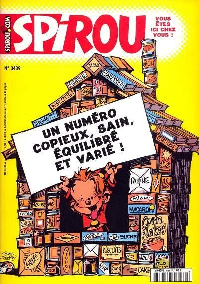 Le journal de Spirou 3439 - 3439