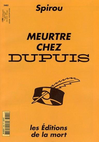 Le journal de Spirou 3482 - Meutre chez Dupuis