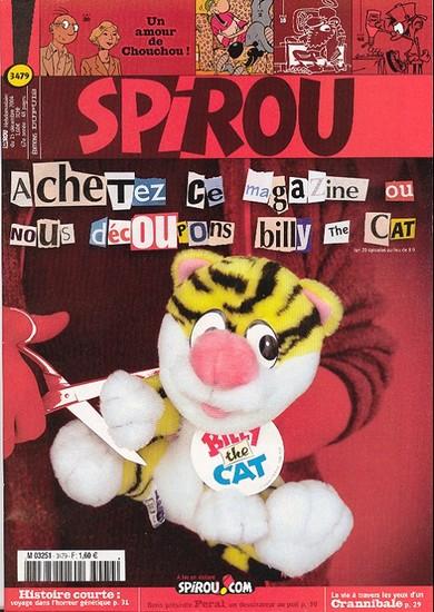 Le journal de Spirou 3479 - 3479