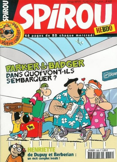 Le journal de Spirou 3620 - 3620