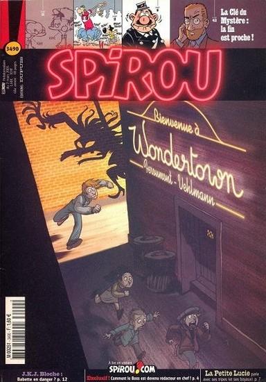 Le journal de Spirou 3490 - 3490