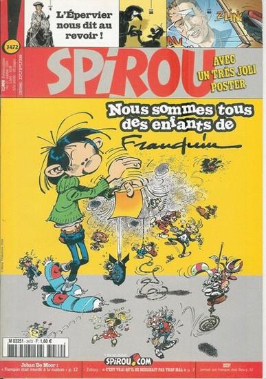 Le journal de Spirou 3472 - 3472