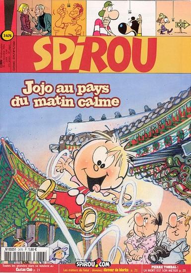 Le journal de Spirou 3476 - 3476