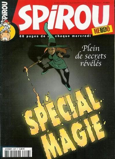 Le journal de Spirou 3587 - Spécial magie