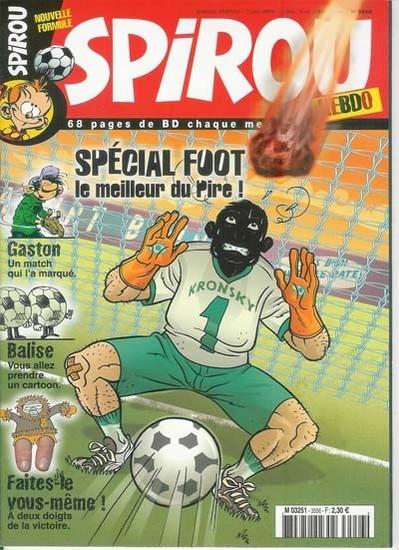Le journal de Spirou 3556 - Spécial foot !