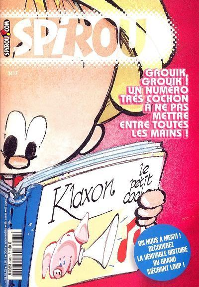 Le journal de Spirou 3417 - 3417