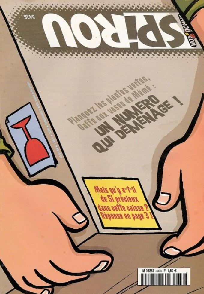 Le journal de Spirou 3438 - 3438