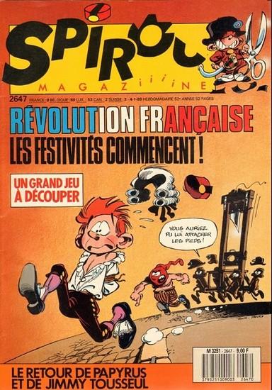 Le journal de Spirou 2647 - 2647