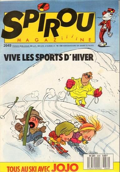 Le journal de Spirou 2649 - 2649