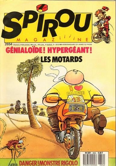 Le journal de Spirou 2654 - 2654