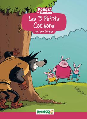 Les 3 petits cochons (Léturgie) 1 - Les 3 petits cochons