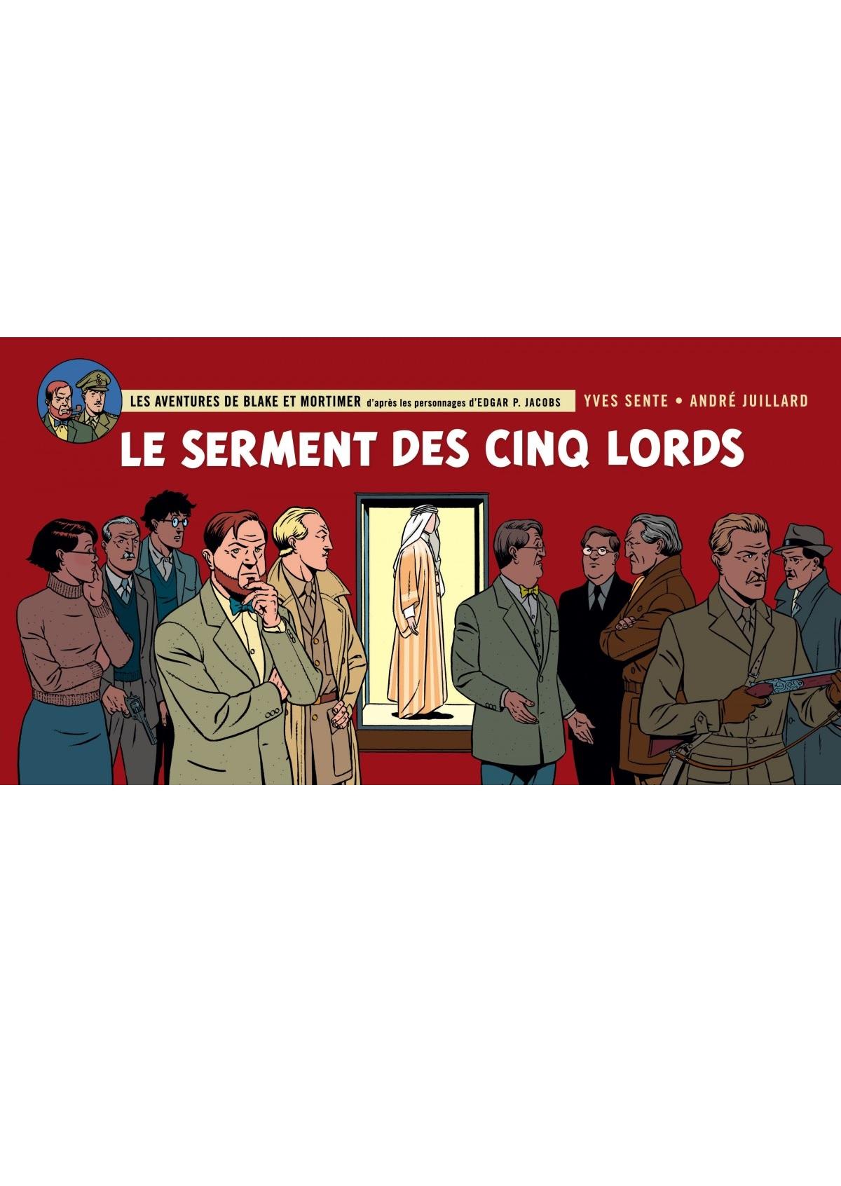 Blake et Mortimer 21 - Le serment des cinq Lords
