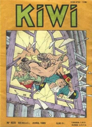 Kiwi 408 - Le grand couteau