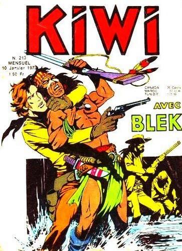 Kiwi 213 - La mort de Blek