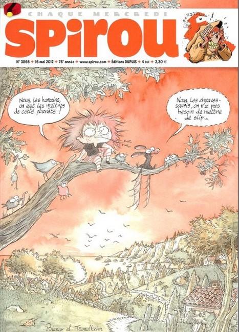 Le journal de Spirou 3866 - 3866