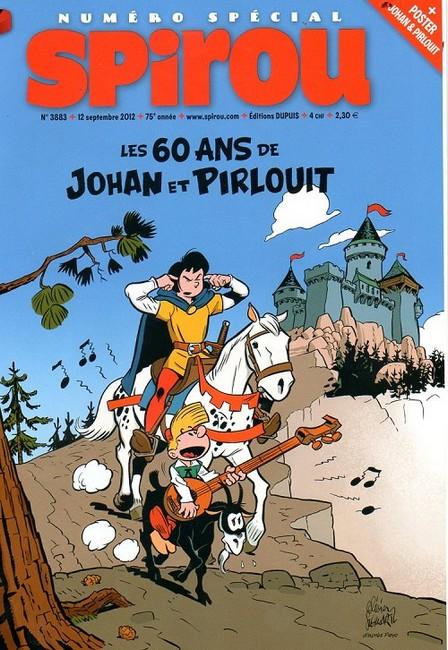 Le journal de Spirou 3883 - Spécial les 60 ans de Johan et Pirlouit