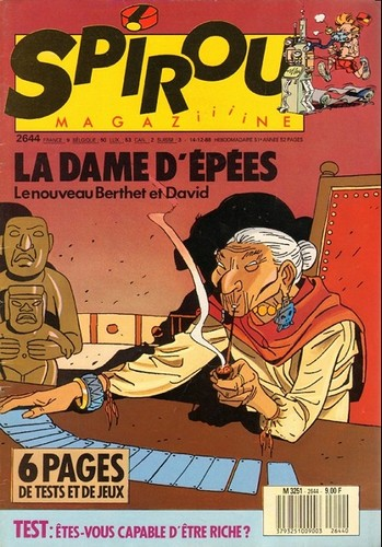 Le journal de Spirou 2644 - 2644