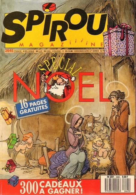 Le journal de Spirou 2645 - Spécial Noël