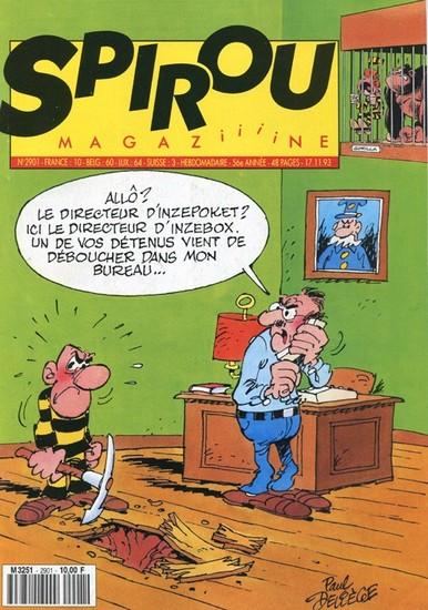 Le journal de Spirou 2901 - 2901