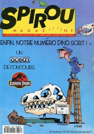 Le journal de Spirou 2893 - 2893