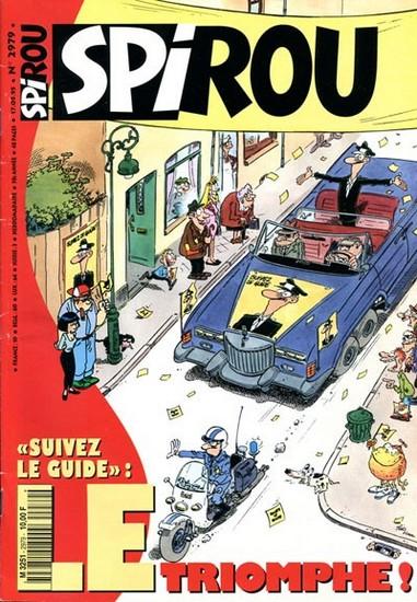 Le journal de Spirou 2979 - 2979