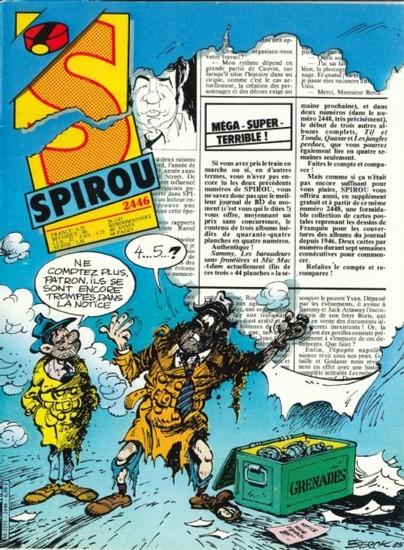 Le journal de Spirou 2446 - 2446