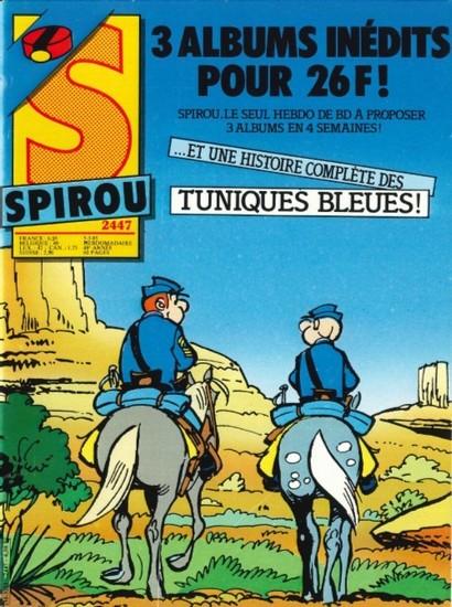 Le journal de Spirou 2447 - 2447