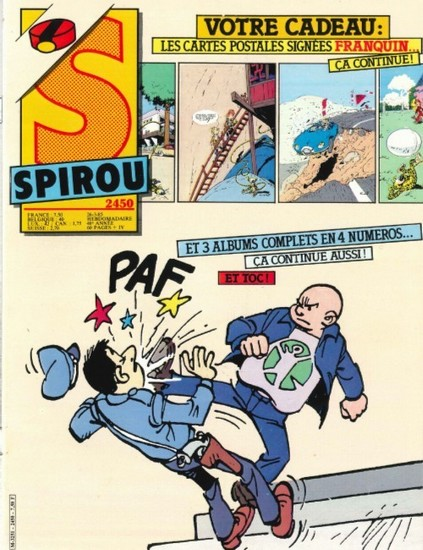 Le journal de Spirou 2450 - 2450