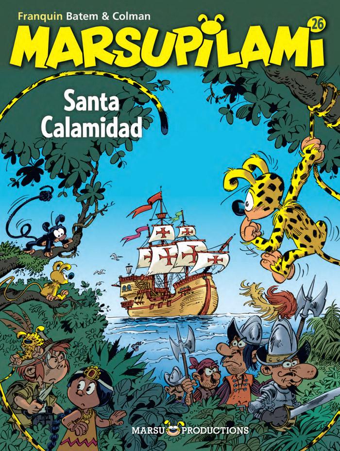 Marsupilami 26 - Santa Calamidad
