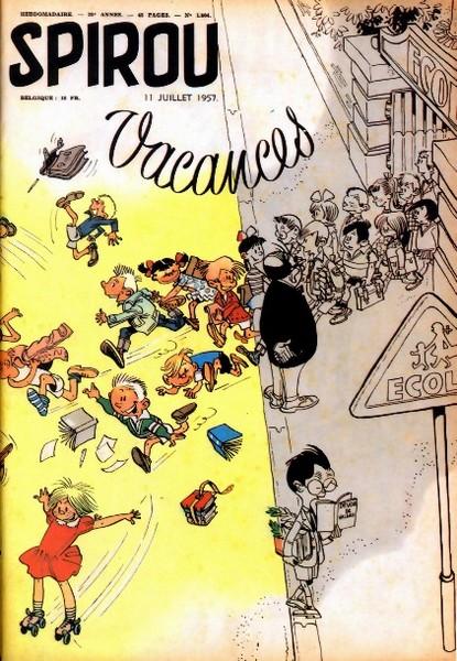Le journal de Spirou 1004 - Spécial vacances