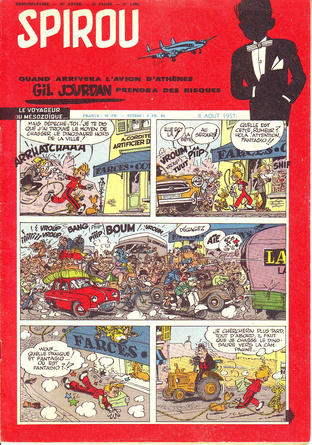 Le journal de Spirou 1008 - 1008