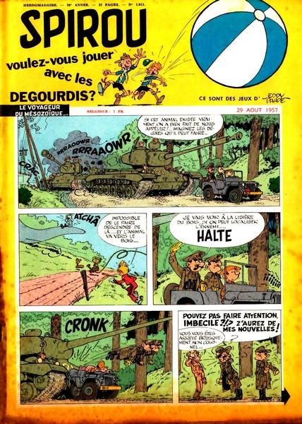 Le journal de Spirou 1011 - 1011