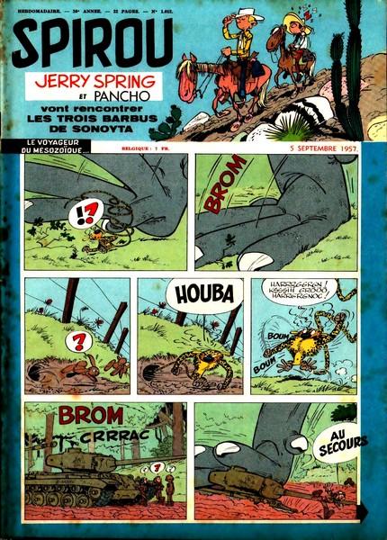 Le journal de Spirou 1012 - 1012