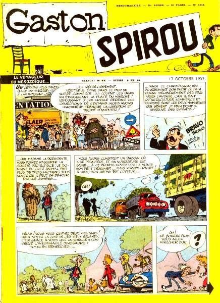 Le journal de Spirou 1018 - 1018
