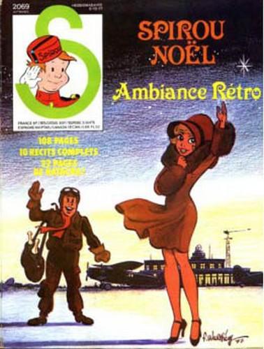 Le journal de Spirou 2069 - Spirou Noël - Ambiance Rétro