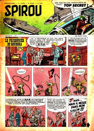 Le journal de Spirou 1054 - 1054