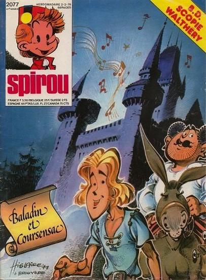 Le journal de Spirou 2077 - 2077