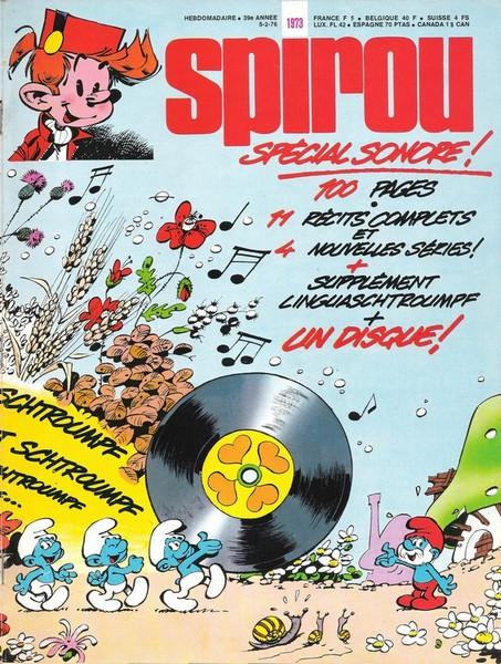 Le journal de Spirou 1973 - Spécial sonore !