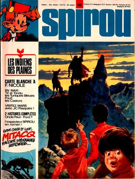 Le journal de Spirou 1843 - 1843