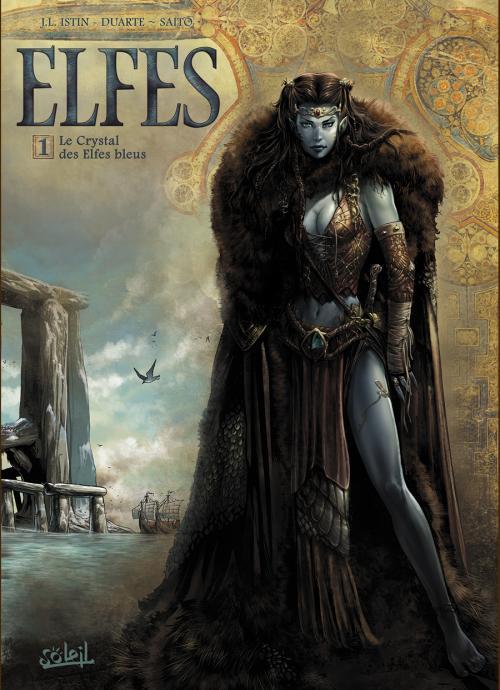 Elfes 1 - Le Crystal des Elfes bleus