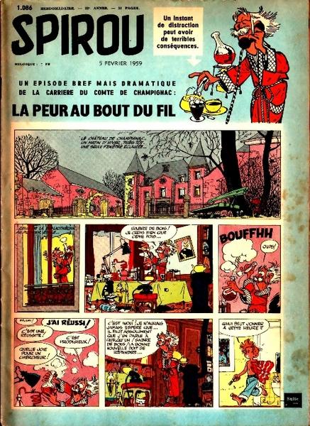 Le journal de Spirou 1086 - 1086