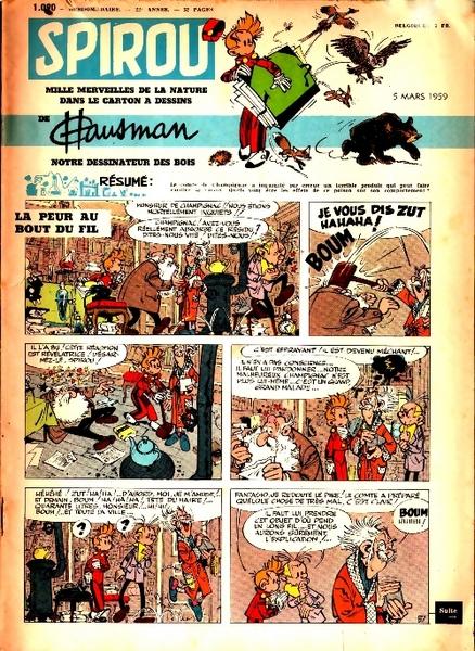 Le journal de Spirou 1090 - 1090
