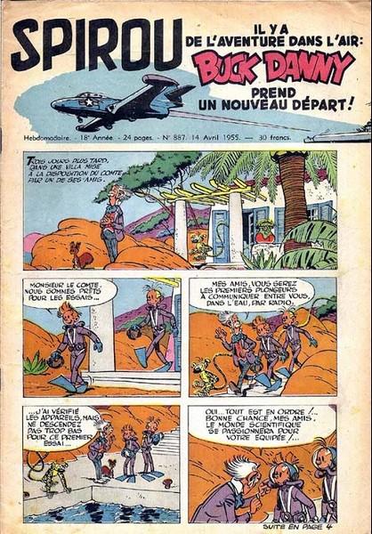 Le journal de Spirou 887 - 887