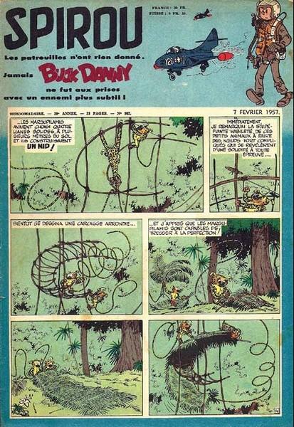 Le journal de Spirou 982 - 982